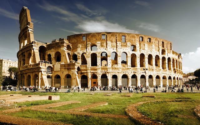 Roman Colosseum, Roma Italia