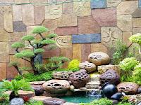 Jasa tukang dekorasi tebing dan ornamen relief 3D - Gresik