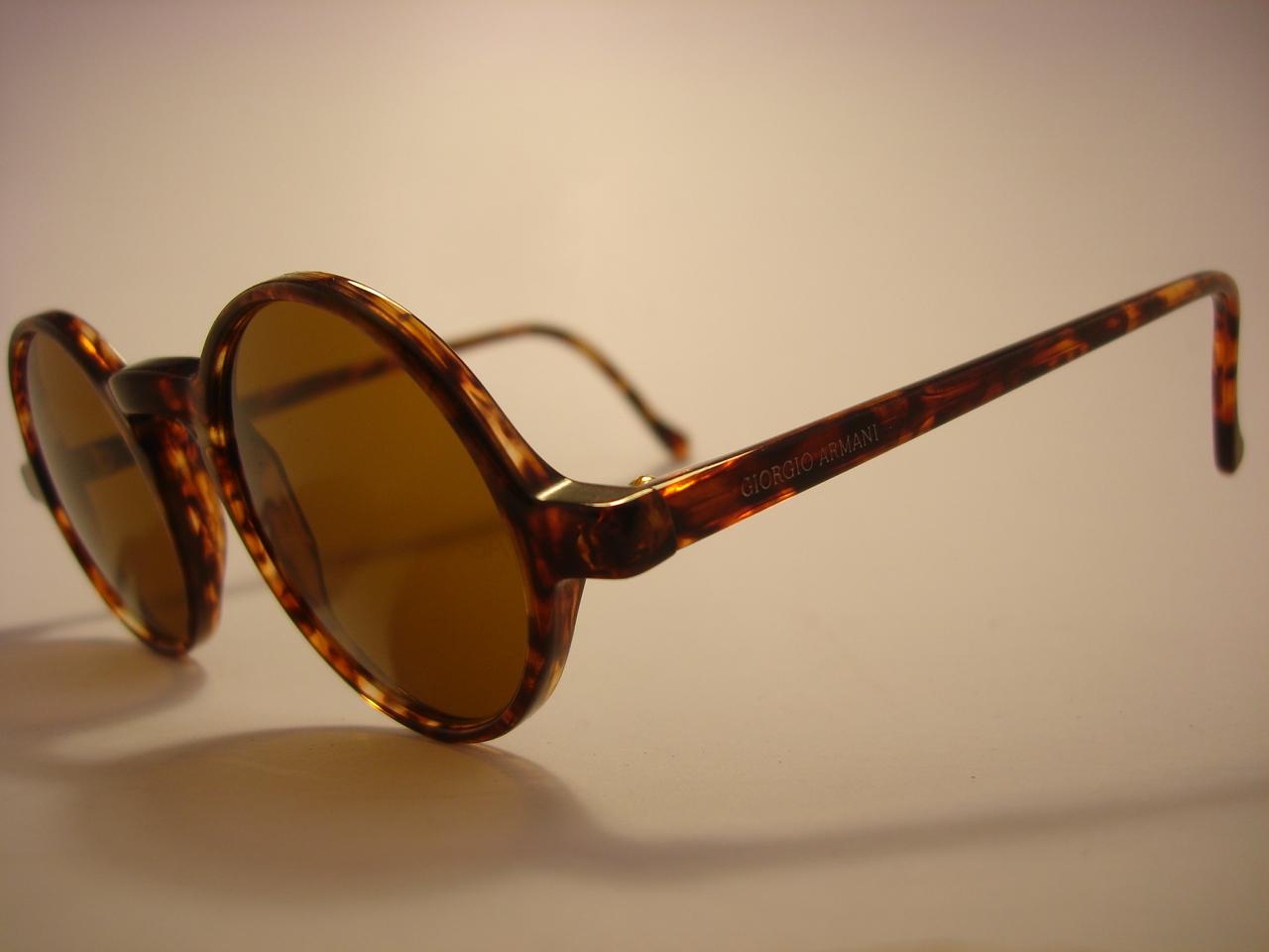 f7448f55d93d Giorgio Armani Vintage Round Sunglasses « Heritage Malta