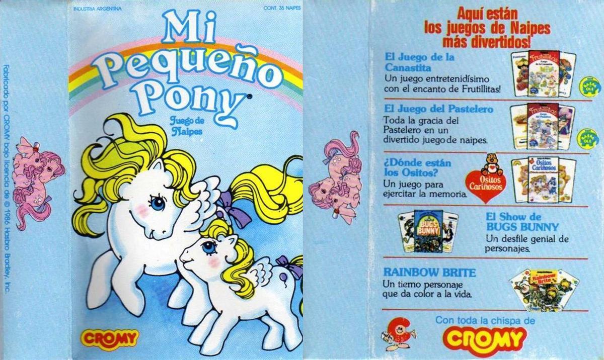 Barajas y Naipes: Mi pequeño pony-cromy