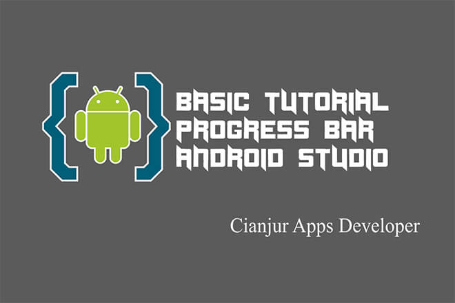 Tutorial dasar cara menerapkan ProgressBar pada android studio, setProgress, setMax, loading, progress, java programming, android studio. Dari WILDAN TECHNO ART.