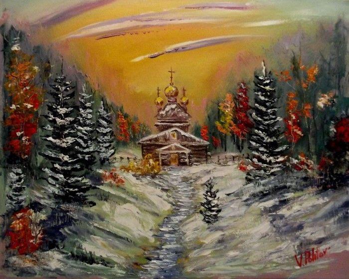 Художник-импрессионист. Валерий Политов