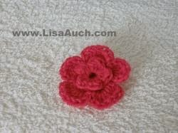 free crochet flower pattern, how to crochet a flower, crochet flowers free patterns