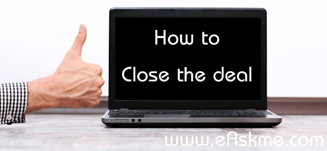 How to close the deal an buy premium domain : eAskme