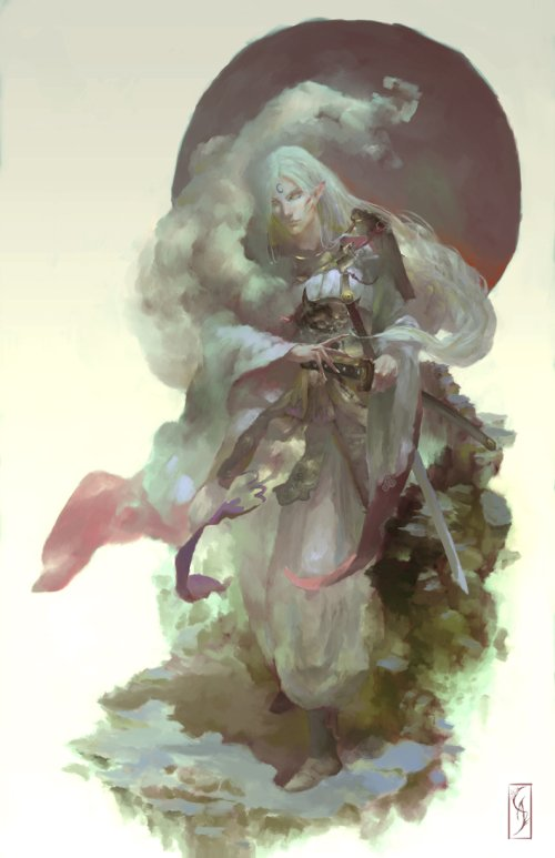 Christian Angel deviantart artstation ilustrações fantasia animes mangás