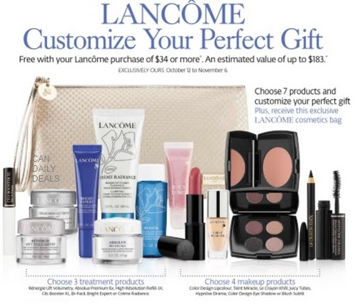 Lancome is a luxury cosmetics retailer offering award-winning skincare and makeup collections. Find Lancome coupons and sales to save on high-end cosmetics, perfume, cologne, skin care, makeup, hair products and more!