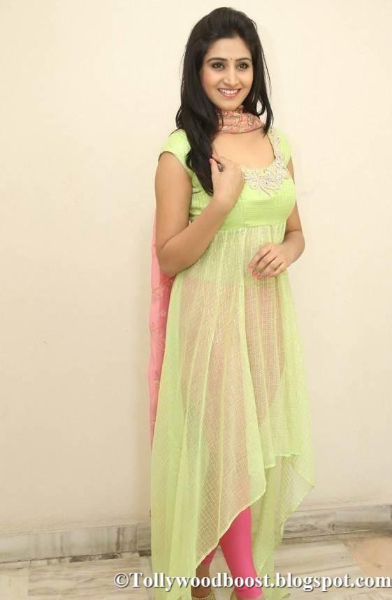 Telugu Actress Shamili Hot Photo shoot In Green Dress 2017