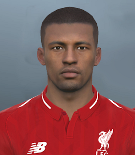 PES 2017 Faces Georginio Wijnaldum by Facemaker Ahmed El Shenawy