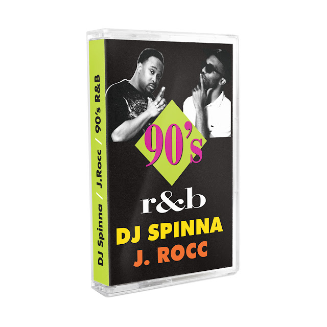 All 1990s R&B! Two legendary DJs. One tape. DJ Spinna mixes the best of 90's R&B on one side, while J. Rocc mixes the best of 90's east coast R&B on the other.