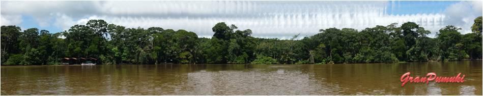 Panorámica de los caños de Tortuguero. En blog de viajes, Tortuguero, Costa Rica con niños