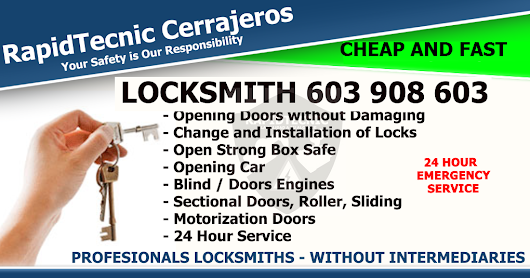 Locksmith La Parrilla, Valladolid 603 908 603