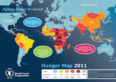 Hunger around the world and Statistics   World Hunger Project