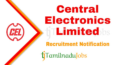 CEL Recruitment notification 2019, govt jobs for engineers,