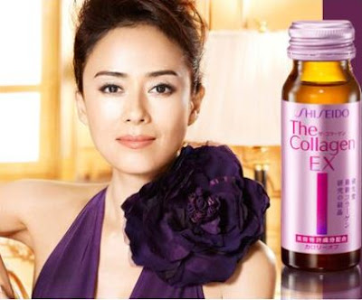 Nước uống collagen shiseido ex giúp chống lão loá, làm liền sẹo nhanh chóng