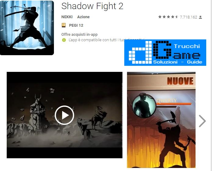 Trucchi Shadow Fight 2 Mod Apk Android v1.9.26