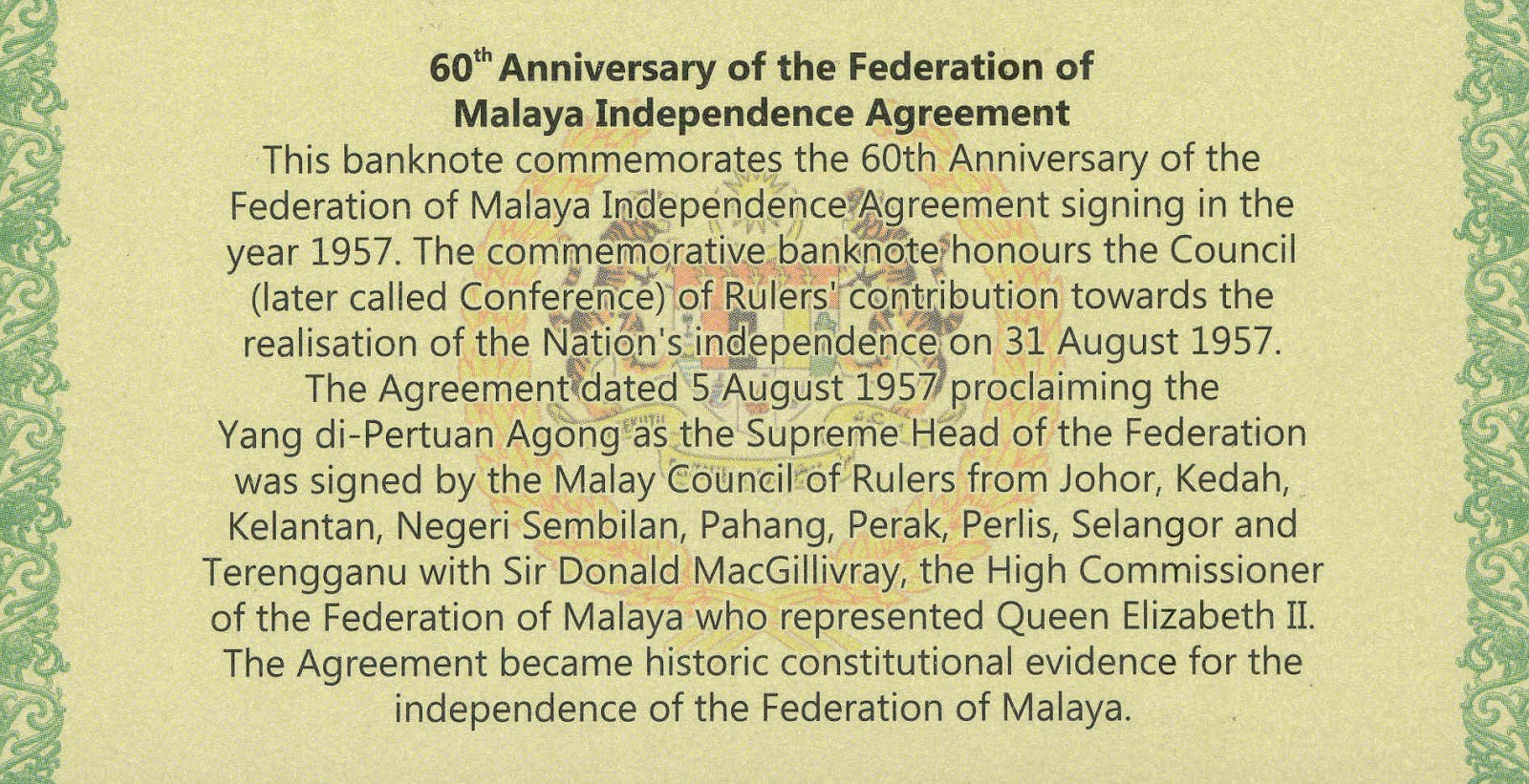 a history of the malayan independence and the role of britain Federation of malay declared independence in 1957 other british territories joined the federation 10 work cited drabble, john the economic history of malaysia ehnet encyclopedia, edited by 1 udviklingsøkonomi grundfag lecture 26: the role of the state based on irma adelman's chapter 2.