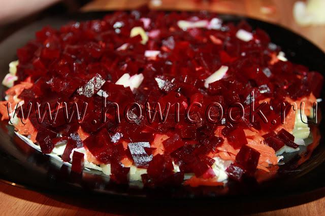 рецепт селедки под шубой с пошаговыми фото