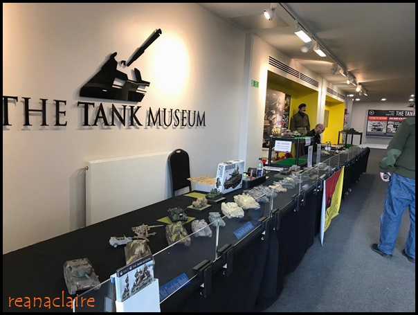 Caring Is Not Only Sharing   : A Visit To The Tank Museum In