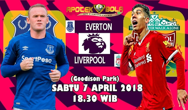 Prediksi Everton vs Liverpool 7 April 2018