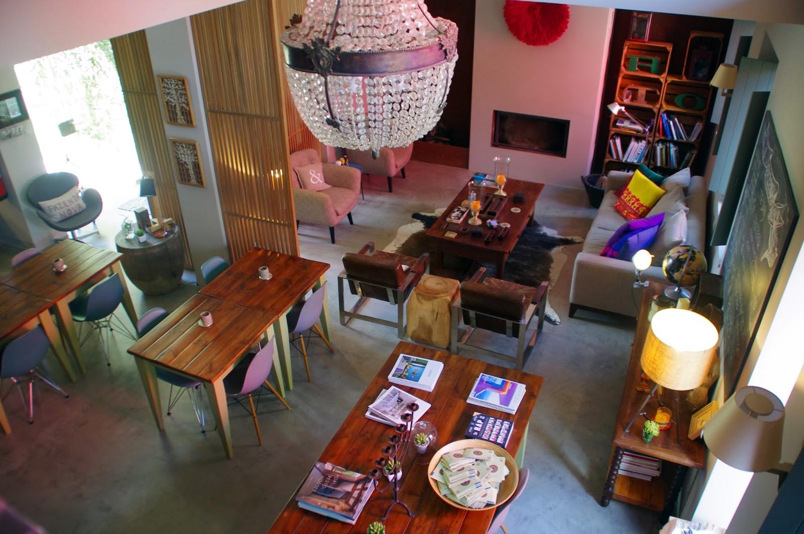 Fazenda Nova Country House Reception and Lounge