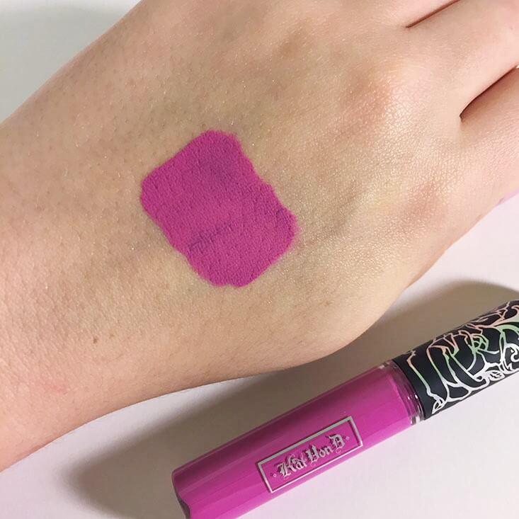 Kat Von D Everlasting Liquid Lipstick K-Dub swatch