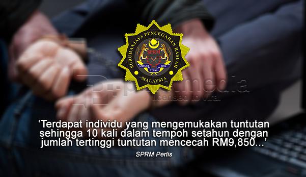 sprm, penjawat awam, sprm 2016, penjawat awam ditahan