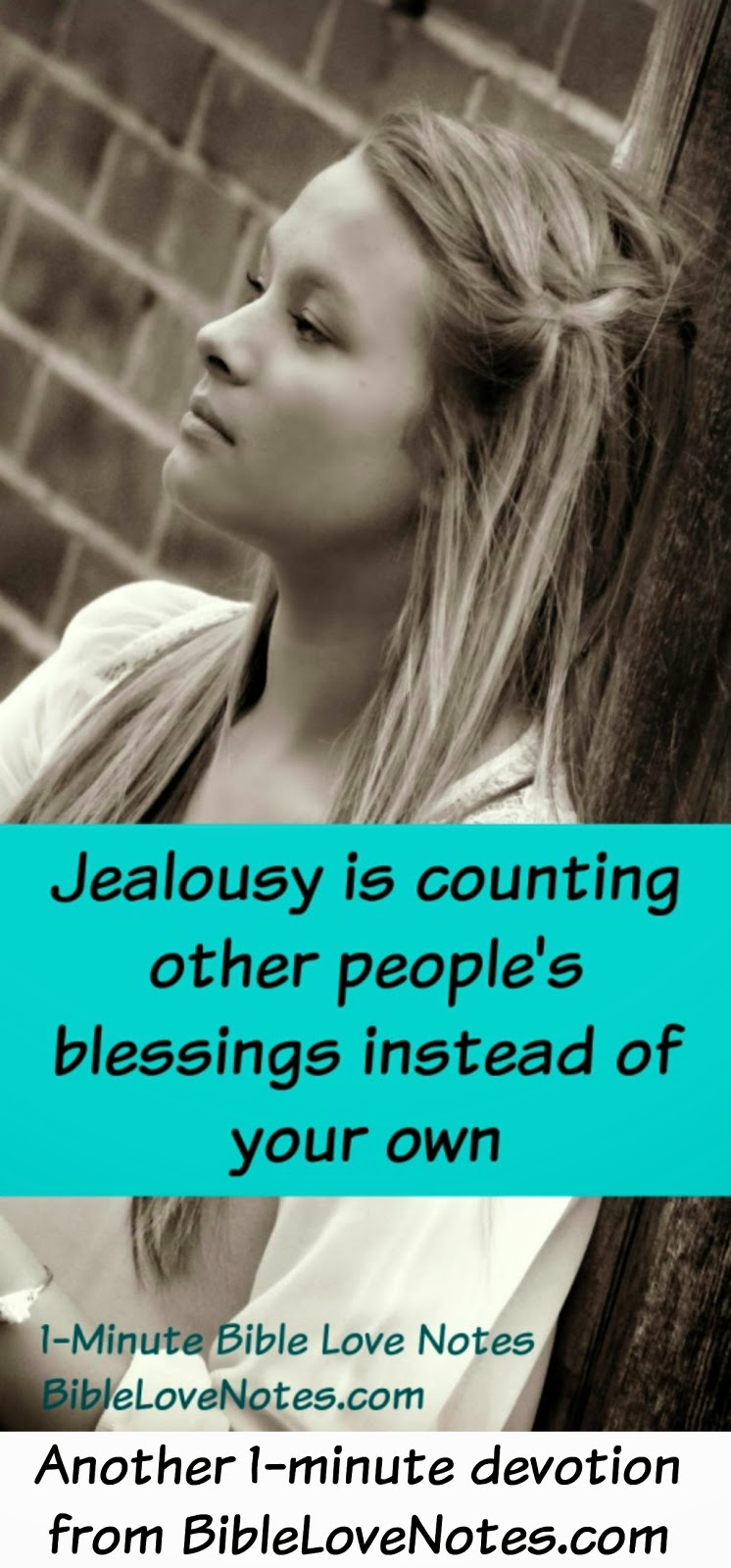 Jealousy, envy, Genesis 37, jealousy is counting other people's blessings