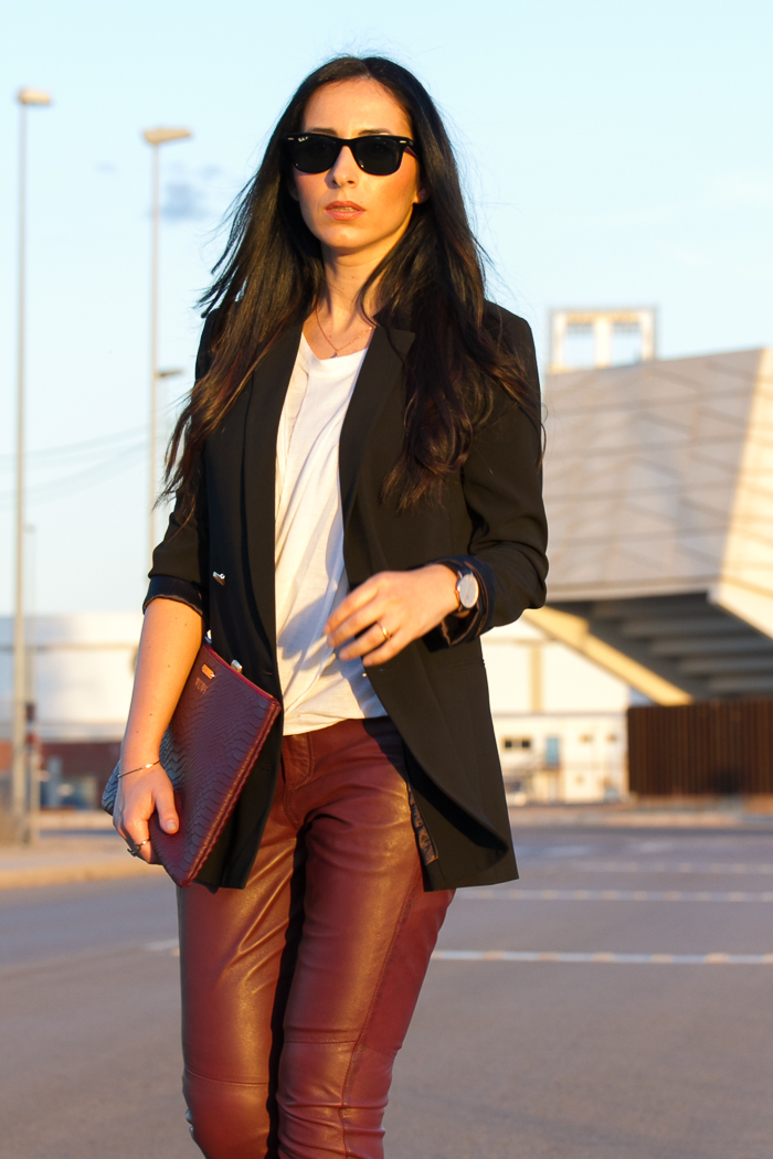 645cc86ef5 Burgundy Leather Sophistication | With Or Without Shoes - Blog ...