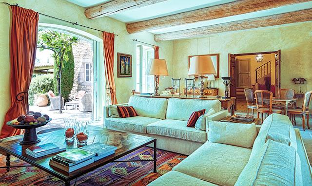 Intérieur luxueux, propriété privée Gordes.