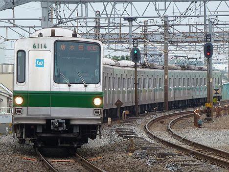 常磐線 唐木田行き5 6000系LED車(2017.5終了)