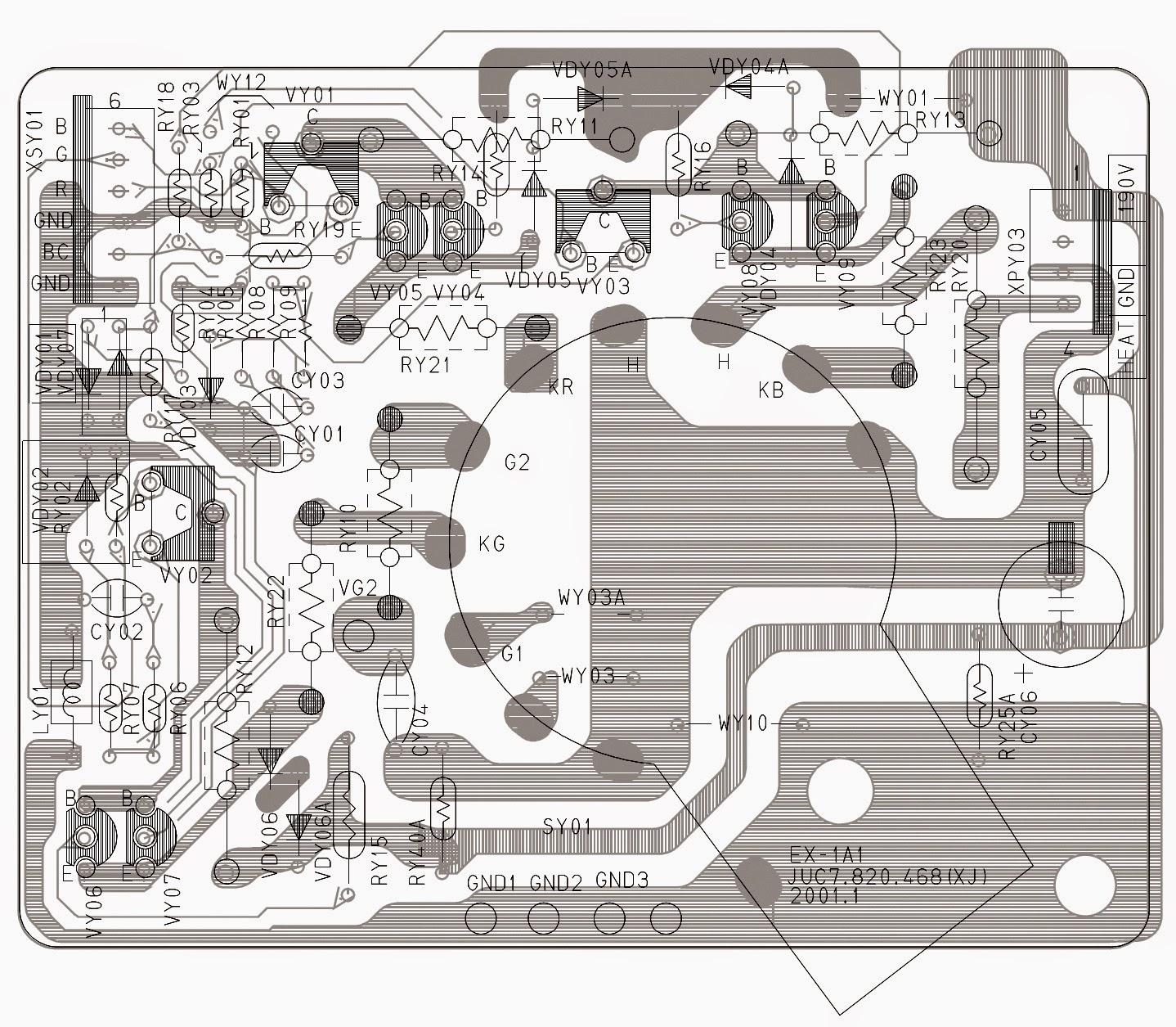 Electro Help  Color Tv Circuit Diagram