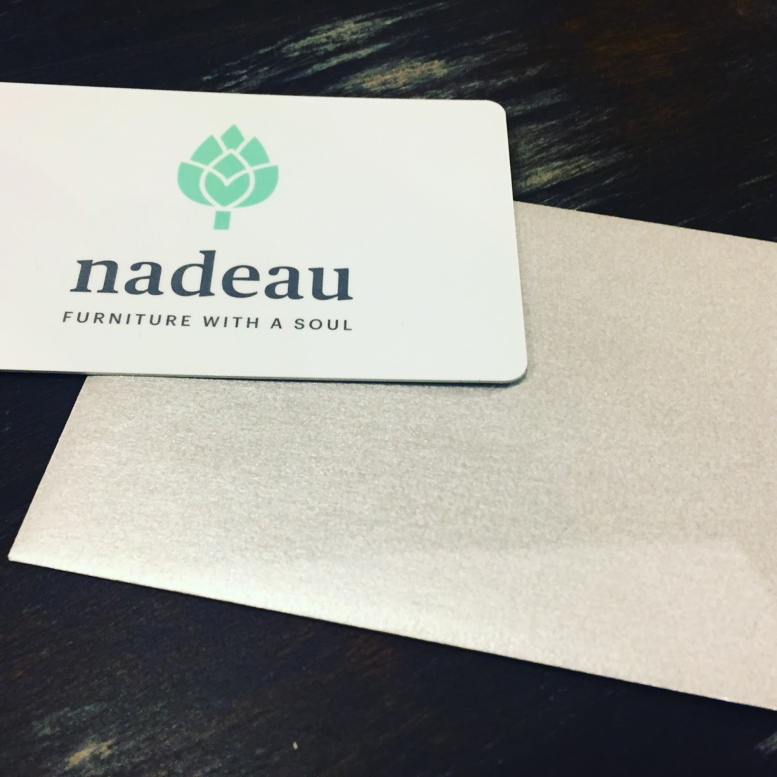RALEIGHWHATSUP Gift Ideas from Nadeau Furniture with a Soul