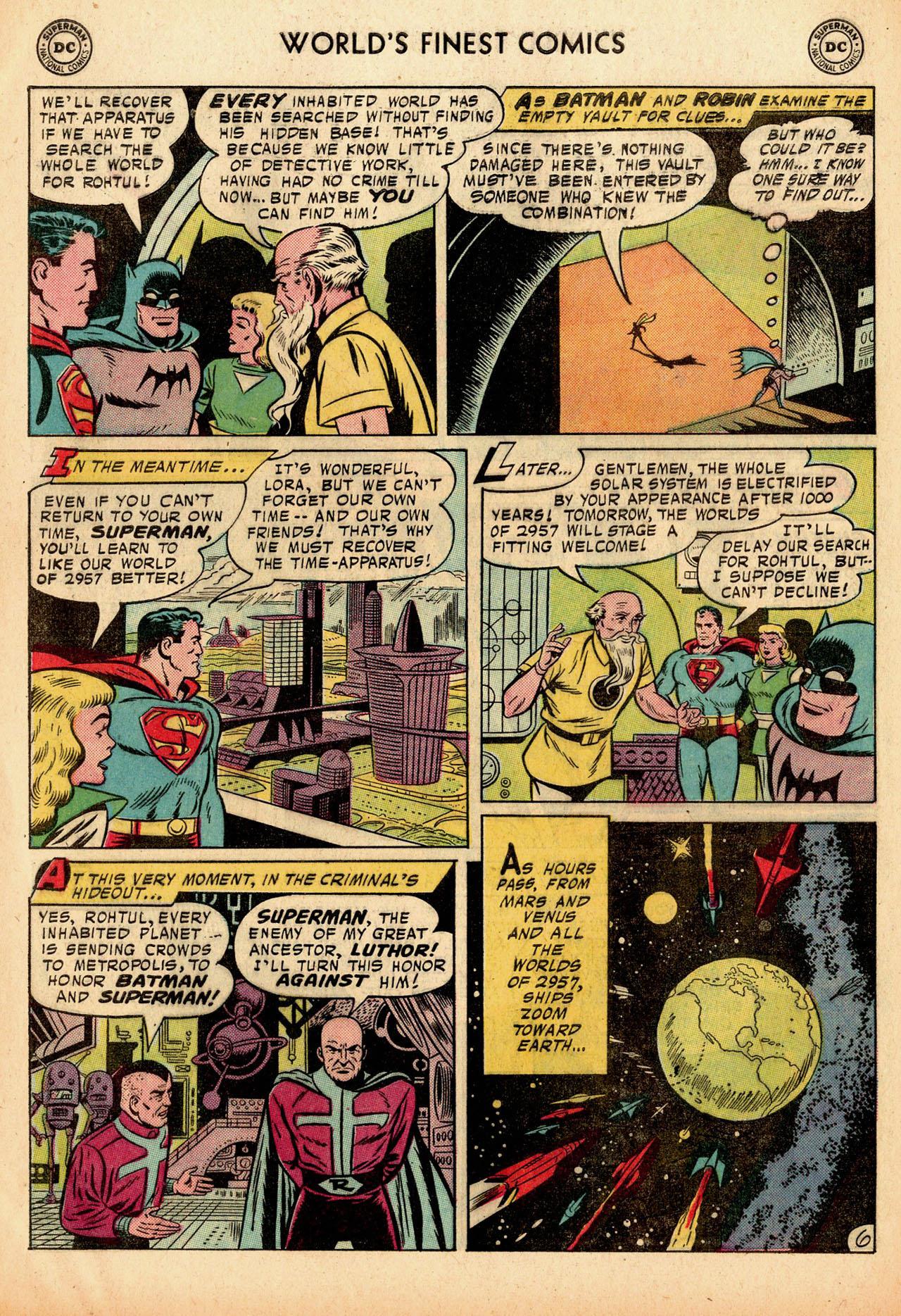 Read online World's Finest Comics comic -  Issue #91 - 8