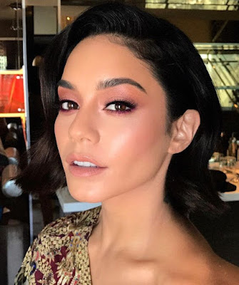 vanessa hudgens, instagram, patrick ta, monochromatic, makeup, beauty, trending, summer, hack