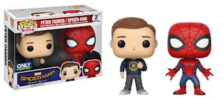 Pop! Marvel: Spider-Man - Peter Parker & Homemade Suit 2-Pack