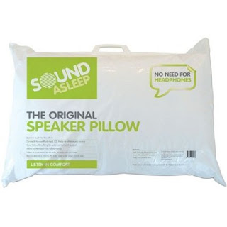 Single Speaker Pillow 50% Polyester, 50% Cotton – Made in the UK £10.99