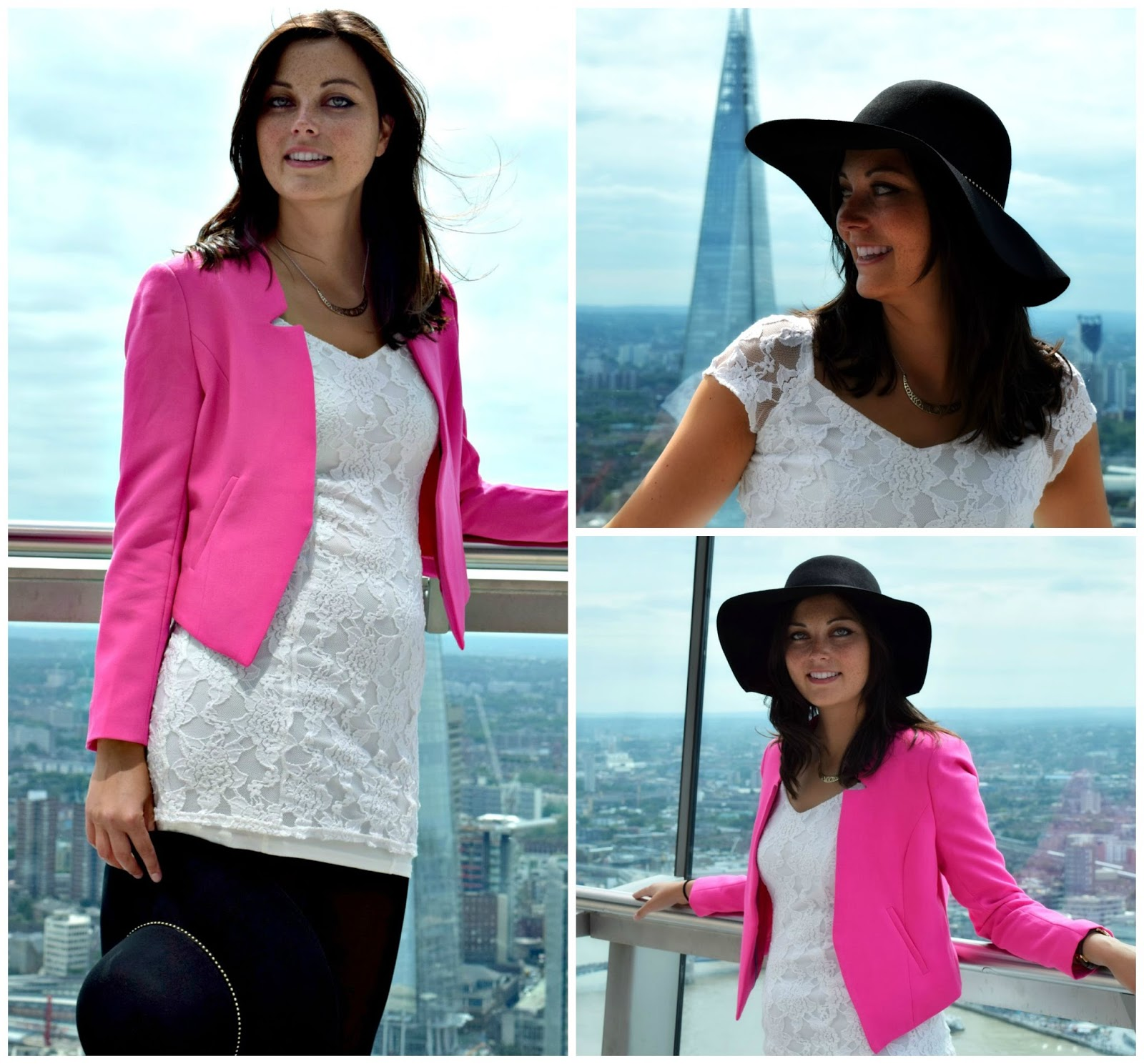 Sky Garden OOTD Fashion Post