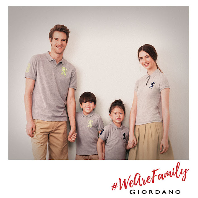 Giordano #WeAreFamily campaign