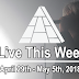 Live This Week: April 29th - May 5th, 2018