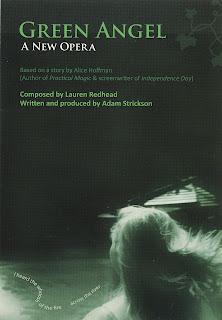 Lauren Redhead, Green Angel, artistic research