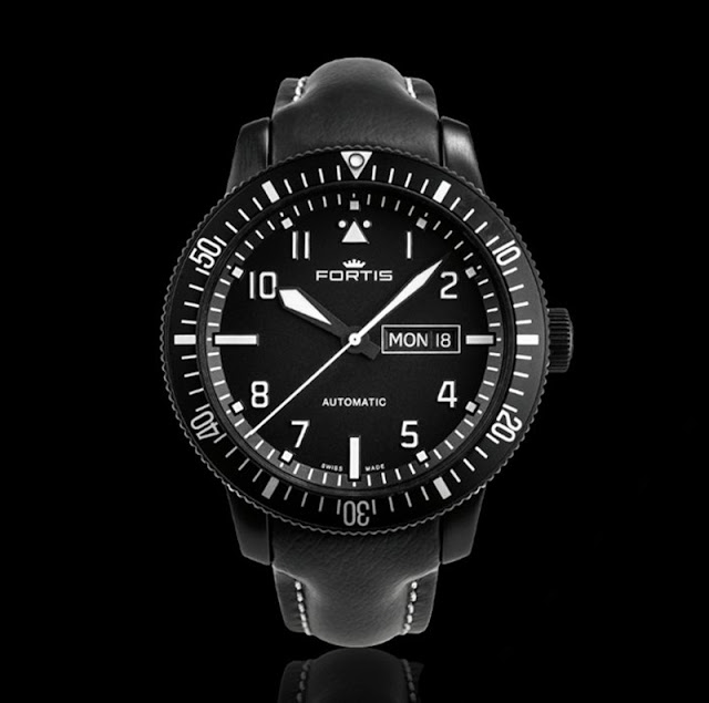 Fortis Aeromaster Mission Timer