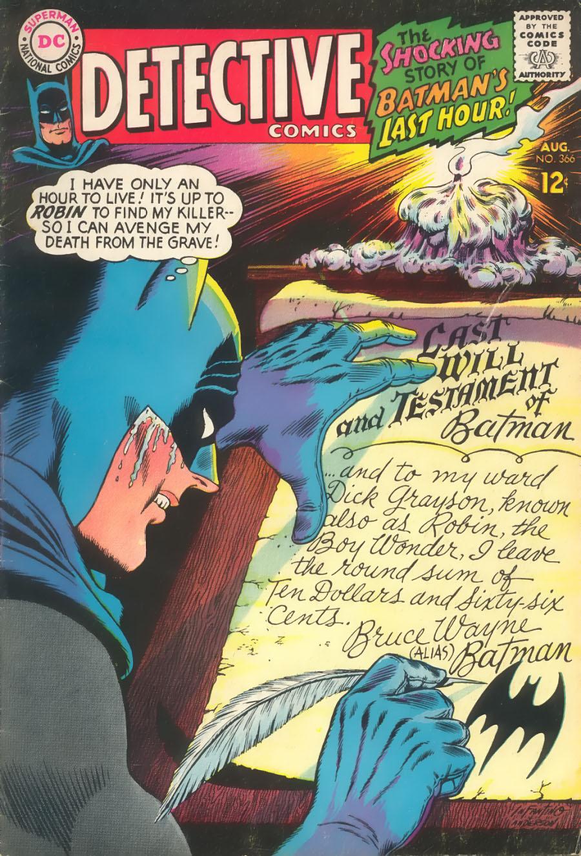 Detective Comics (1937) 366 Page 1