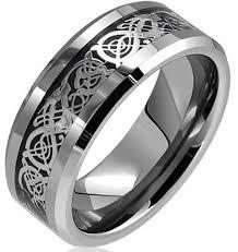 Tungsten Mens Rings Wedding