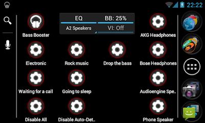 Bass Booster Pro v2.4.1 Apk Setting