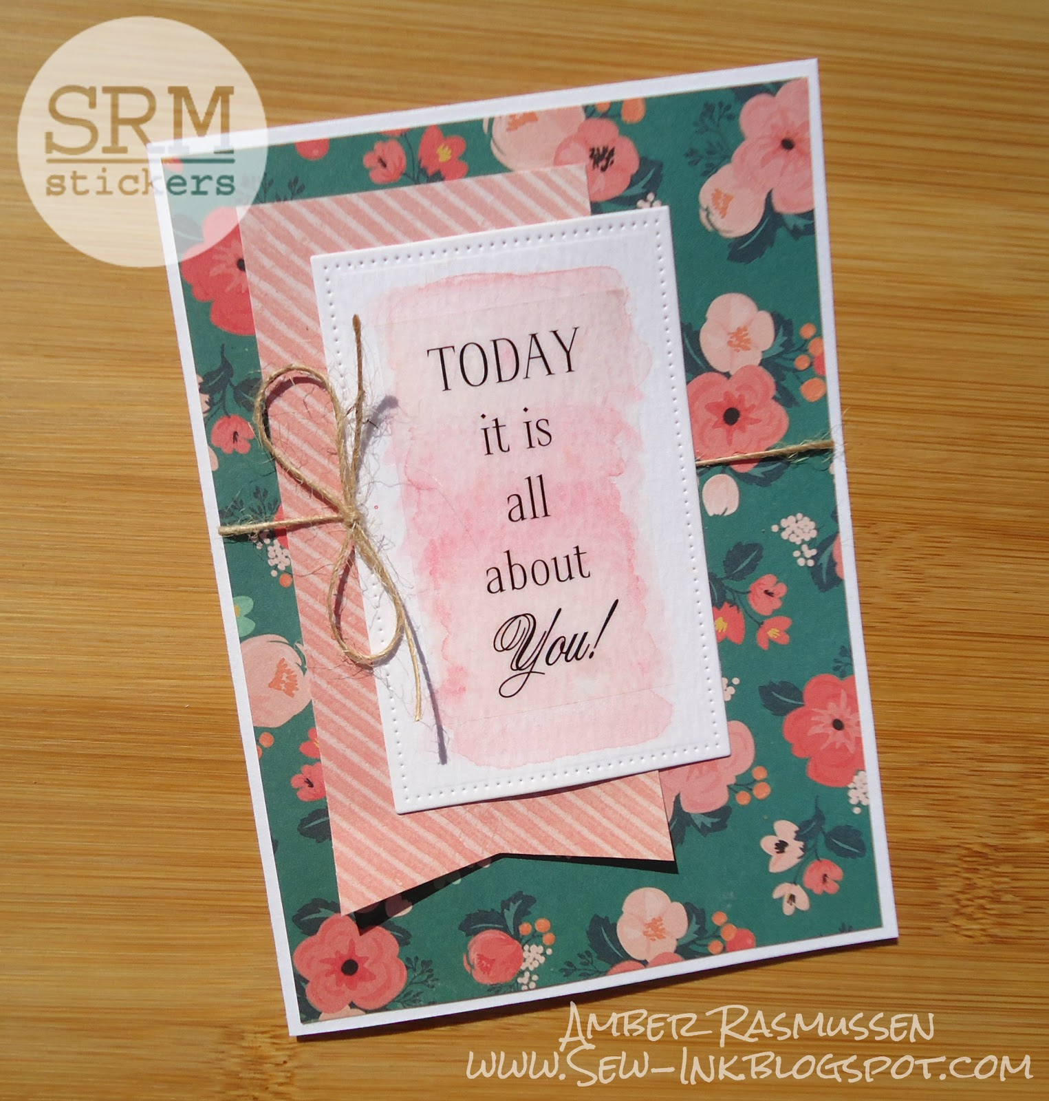 Srm Stickers All About You Card Set By Amber
