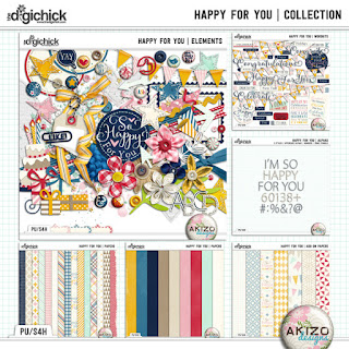 Kit : Happy For You by Akizo Designs