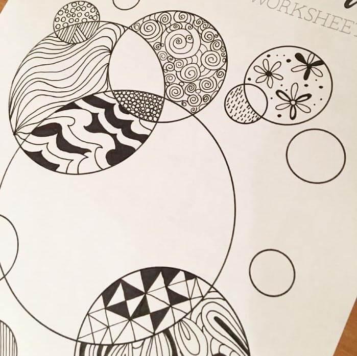 Doodle shape pages