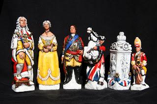 Culloden Chess pieces