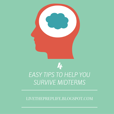 Study Tips For Midterms | Live The Prep Life