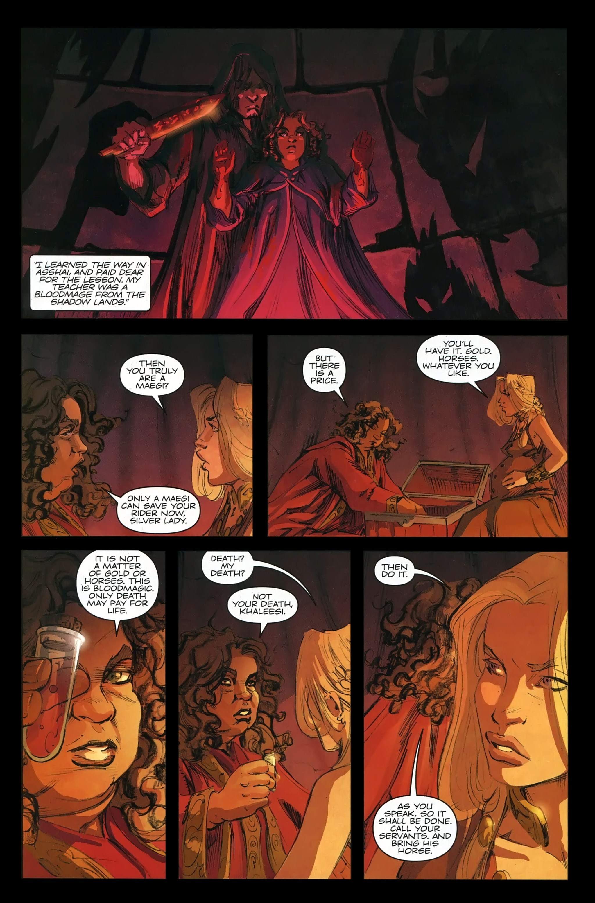 Read online A Game Of Thrones comic -  Issue #22 - 24